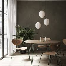 white oval pendant light black cable