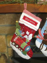 Red Train Stocking Pottery Barn Quilted Stocking RED & ð???zoom Adamdwight.com