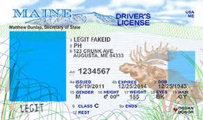 Scannable Ids Legitfakeid Maine Fake Id Cards