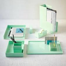 office cubicle accessories shelf. Cubicle Desks Accessories View In Gallery Mint Office From West Elm Shelf .