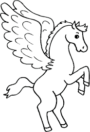 Pegasus Coloring Pages Online Coloring Pages Cute Coloring Pages