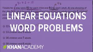 systems of linear equations word problems harder example math new sat khan academy