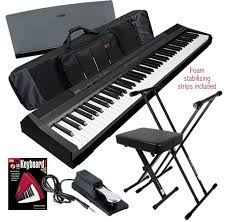 yamaha p105. yamaha digital pianio package - p105