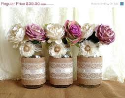Decorating With Mason Jars And Burlap Mason Jars With Burlap Decorating Mason Jars Burlap And Black Lace 95