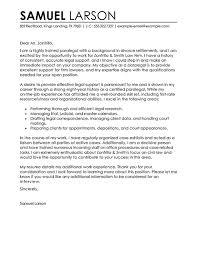 sample bankruptcy attorney cover letter cover letter law clerk