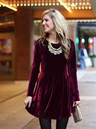 Velvet Dress Ideas 11