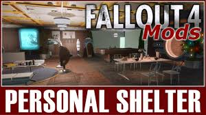 Fallout 4 Mods - Personal Shelter - YouTube