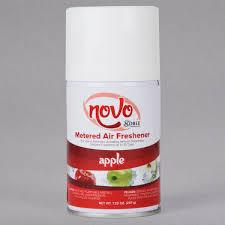 Bathroom Fresheners Classy Noble Chemical Novo 4848 Oz Apple Metered Air Freshener Refill