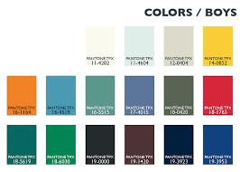 Color Usage Kids / Boys
