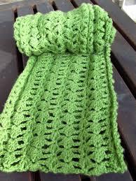 Crochet Scarf Pattern Free Custom DIY Crocheted Lacy Green Infinity Scarf Pattern Kiku Corner