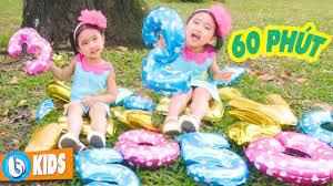 Tập Đếm, Chú Ếch Con - 60 Phút Nhạc Thiếu Nhi Hay Nhất Cho Bé Ăn Ngon -  YouTube