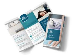 Cleaning Brochure Simple Carpet Cleaning Tri Fold Brochure Template Mycreativeshop