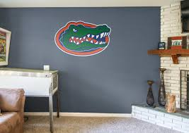 florida gators logo giant officially licensed removable wall decal fathead wall decal