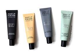 make up for ever step 1 skin equalizer primers review photos