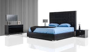 Modern Black Bedroom Lyrica Modern Black Bedroom Set