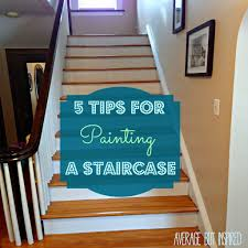 painting a staircase is a pain make it less of a pain by reading this