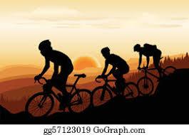 Mountain Bike Clip Art - Royalty Free - GoGraph