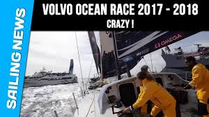 2018 volvo ocean race.  race crazy sailing  volvo ocean race 20172018 with 2018 volvo ocean race