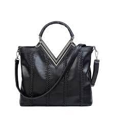 <b>ONEFULL NEW FASHION Pu</b> Leather Shoudler Bag Women Zipper ...