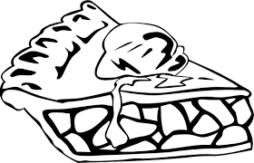 apple pie clip art black white. Apple Pie And Clip Art Free Vector Throughout Black White