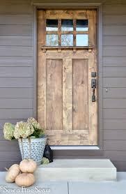 wood front doorsFront Door Drama  Elements of Style Blog