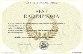 best dad diploma