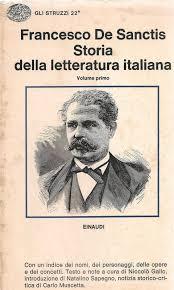 STORIA DELLA LETTERATURA ITALIANA - FRANCESCO DE SANCTIS - VOL PRIMO
