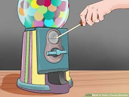 Quarter Vending Machine Trick Simple How To Hack A Candy Machine 48 Steps With Pictures WikiHow