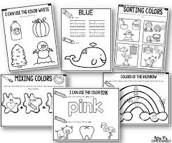 Everything you want to know about printable coloring pages for children is here! Color Activities For Preschool Mrs V S Chickadees