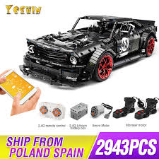 2019 <b>New</b> 1965 Ford Mustang Hoonicorn <b>Racing Car</b> fit <b>Technic</b> ...