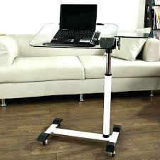 computer table for couch rolling laptop