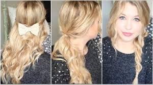 Coiffure Simple Pour Cheveux Bouclés Coiffure Mariage