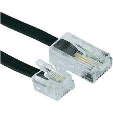 isdn cable 1x rj45 8p4c plug 1x rj11 6p4c plug 3 m black hama isdn cable 1x rj45 8p4c plug 1x rj11 6p4c plug 3 m black