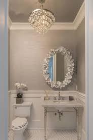 bathroom chandelier lighting ideas modren chandelier powder room throughout marvellous chandelier in small bathroom applied to