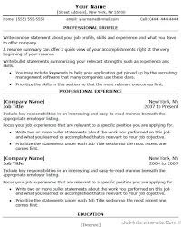 professional resume template thumb professional resume template interview resume sample