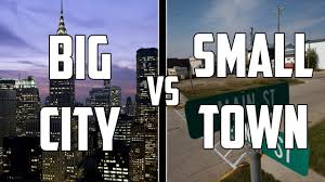 ways living in a city is different than a small town