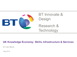UK Knowledge Economy- Skills, Infrastructure & Services Dr Ivan Boyd May  2012 BT Innovate & Design Research & Technology. - ppt download
