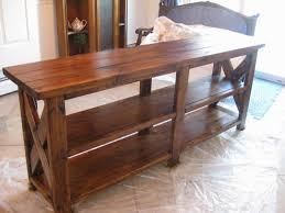 Sofa Table Diy Behind The Couch Table With Storage Bar Sofa Table Sofa Tables