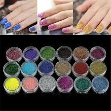 whole nail art glitter powder for uv gel acrylic powder decoration tips nails art design soak off gel from blueberry14 20 35 dhgate
