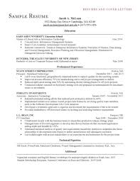 Mesmerizing Mccombs Resume Template 15 Examples Format Cover