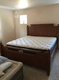 california king bed. King/California King Bed Frame With Mattresses For Sale In Marcola, OR - OfferUp California