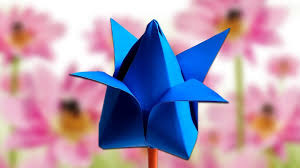How To Make A Lotus Flower Out Of Paper How To Make Lotus Flower Easy Tutorial Paper Craft How To Make Paper Flower
