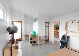 Reduced Reused & Recycled in Austin Contemporary Home Gym