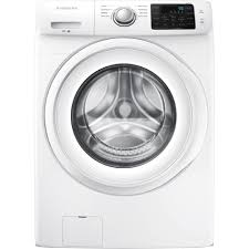 Cleaning Front Load Washing Machine Samsung Wf42h5000aw 42 Cu Ft Front Load Washer White