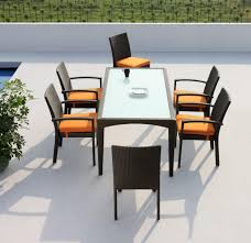 Extending Outdoor Dining Table Modern Outdoor Dining Furniture
