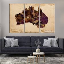 large wall art australia map canvas print mygreatcanvas com extra large wall art wall art print large world map canvas print gallery
