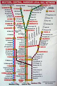 New Worli Chart Printable Mumbai Local Train Map For Tourists