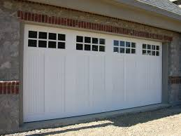 18 x 8 custom versatex garage door w 1x6 tg versatex inlay 32tru divided lites paint grade
