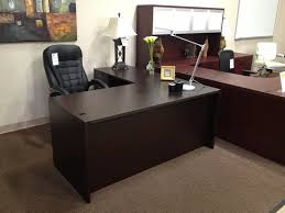 office desk l. Contemporary Desk Charming Executive Office Desk With Return  Furniture Info To Office Desk L