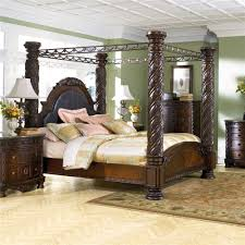 Levins Bedroom Furniture Millennium North Shore King Bed Canopy Frame 9999 More